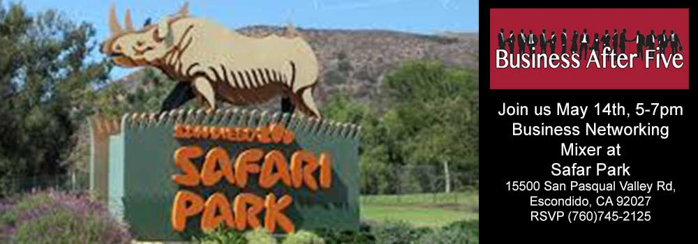 May Business After Five at the Safari Park